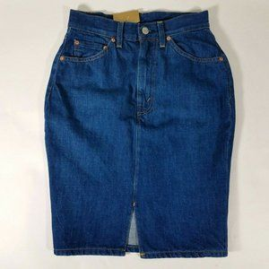 LEVIS Vintage Clothing Denim Skirt